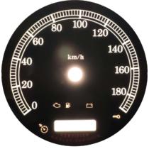 Számlap km/h 103mm