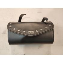 Szálvédő táska króm szegecses (használt)