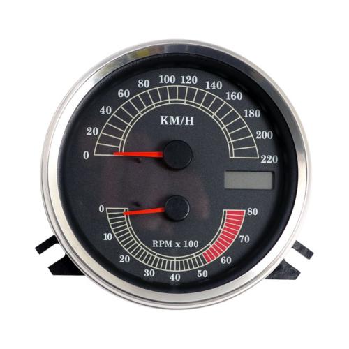 Sebesség/Fordulatszámmérő, KM/óra számlappal.